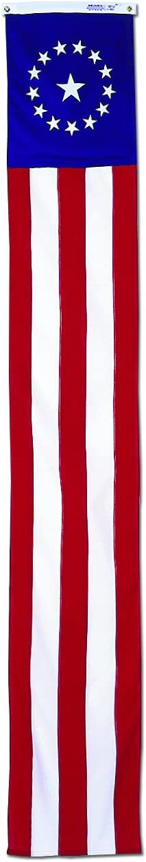 16 by 96-Inch Annin Flagmakers Colonial Style Pulldown Flag