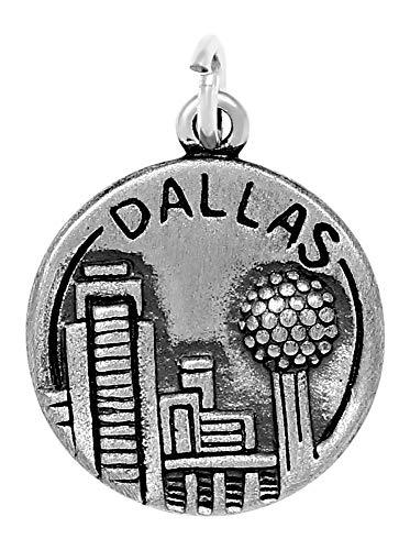 Raposa Elegance Sterling Silver Dallas Charm (approximately 16 mm x 16 - Pendant Cowboys Star Dallas