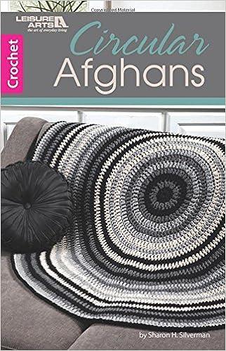 Circular Afghans Crochet Leisure Arts 75616 Sharon H