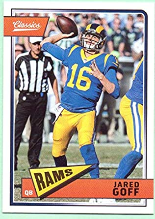 25eecc4a996 Jared Goff 2018 Classics #89 - Los Angeles Rams at Amazon's Sports ...