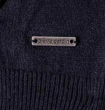 Pierre Cardin Herren Cardigan Schurwollmix Jacke Unifarben, Größe: XXL, Farbe: Blau