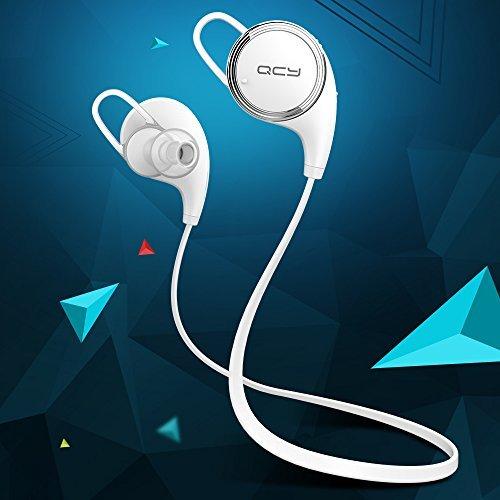 [QCY Factory Outlet] QY8 Mini Auriculares Bluetooth Inalámbricos Auriculares Deportivos In-ear Estéreo para Correr y Gym con Mic Resistente al Agua y Audor ...