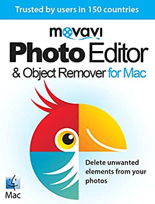 Movavi Photo Editor & Object Remover for Mac 4 Personal [Download]