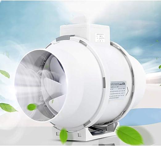 Ventilador de ventilación de escape, extractor de aire potente ...