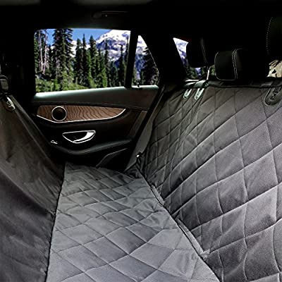 URPOWER Pet Seat Cover Car Seat Cover for Pets - Scratch Proof & Nonslip Backing & Hammock, Quilted, Padded, Durable Pet Seat Covers for Cars Trucks and SUVs