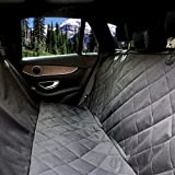 URPOWER Pet Seat Cover Car Seat Cover for Pets - Waterproof & Scratch Proof & Nonslip Backing & Hammock, Quilted, Padded, Durable Pet Seat Covers for Cars Trucks and SUVs