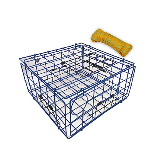 Promar TR-555C1 Folding Crab Trap with 100' Poly Crab Line