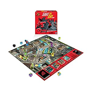 Wonder Forge Disney Pixar The Incredibles Save The Day Game Board for Boys & Girls Age 6 & Up