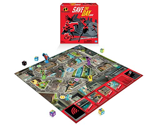 Wonder Forge Disney Pixar The Incredible Save The Day Game Board for Boys & Girls Age 6 & Up