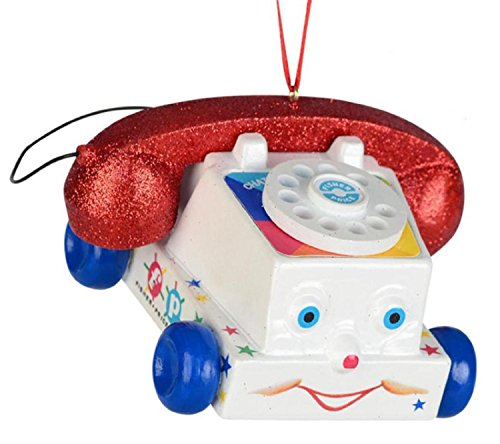 Department 56 Fisher-Price Telephone Ornament