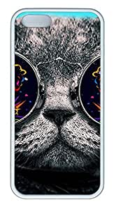 iPhone 5S Case, iPhone 5 Cover, iPhone 5S Cat 26-Wallpaper Soft Cases