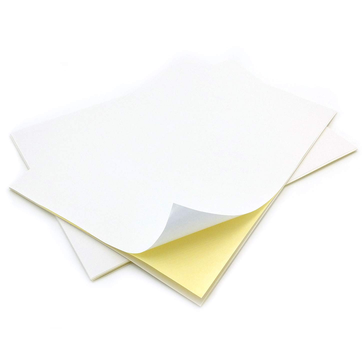 10 Sheets of Quality A4 White MATTE Self Adhesive / Sticky Back Label Printing Paper Sheet Evergreen Goods