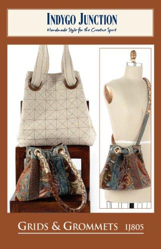 Pattern: Grids & Grommets Bag