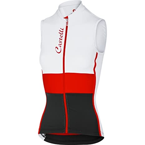 b6afae676 Amazon.com   Castelli 2017 Women s Protagonista Sleeveless Sleeveless  Cycling Jersey - A17066   Sports   Outdoors