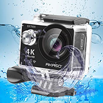 Akaso Ek7000 4k Wifi Sports Action Camera Ultra Hd Waterproof Dv Camcorder 12mp 170 Degree Wide Angle 3