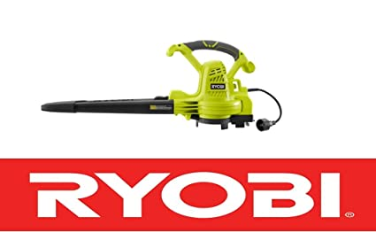 Amazon.com: Ryobi 12 amp eléctrico soplador de hojas/vac ...