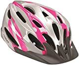KENT USA Helmet V-22 Elite Bicycle Helmet, Pink/Pearlized White