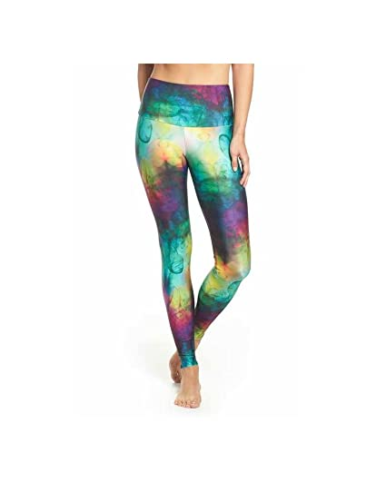 d7eddf8caf06d6 Amazon.com: Onzie Yoga High Rise Legging 228 Smoke and Mirrors: Clothing