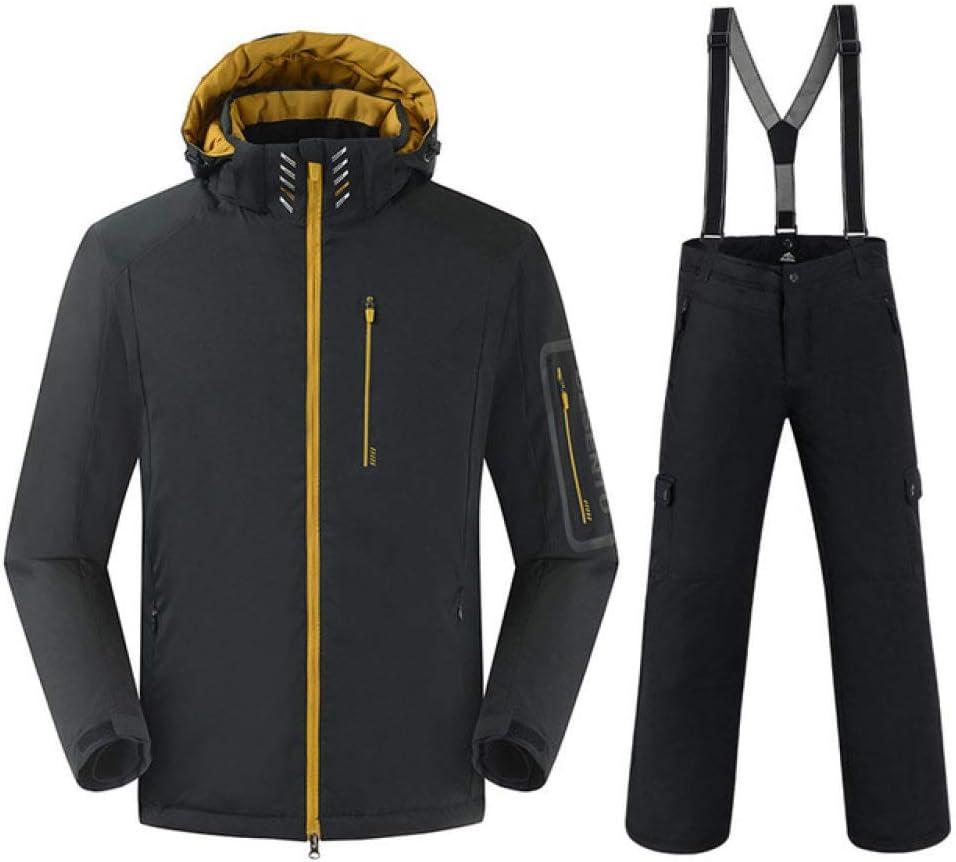KTUCN 30 Grad warme Snowboard anz/üge m/änner Winter Skianzug m/ännlich wasserdicht 10000 atmungs Schnee Jacke Snowboard Hose Set
