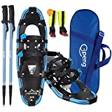 Gpeng 4-in-1 Xtreme Lightweight Terrain Snowshoes