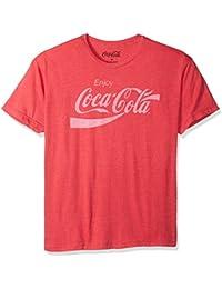 Mens Enjoy Classic Logo Vintage Look T-shirt