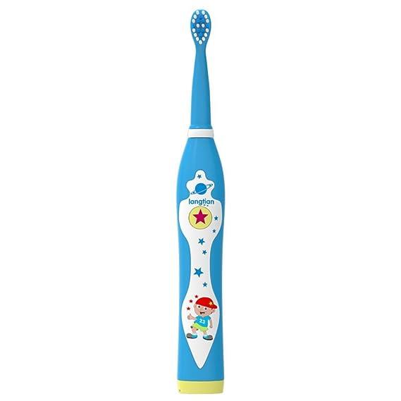 Cepillos de dientes eléctricos Música Recargable Dientes limpios como un dentista Waterproof USB Carga de 3 cabezas de repuesto Sonic Technology Cepillo de ...