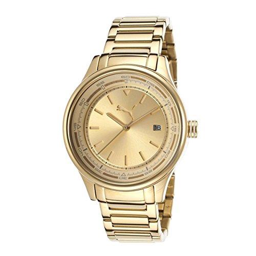 Puma Wheel 3HD - S Metal Gold Women's watch #PU102732005