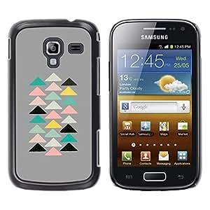 For Samsung Galaxy Ace 2 I8160 / Ace2 II XS7560M Case , Pyramid Modern Art Spiritual - Diseño Patrón Teléfono Caso Cubierta Case Bumper Duro Protección Case Cover Funda