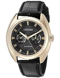 Citizen Men's BU4013-07H Dress Analog Display Japanese Quartz Black Watch