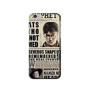 """Harry Potter Daily Prophet 4.7 inches Iphone 6 Case,fashion design image custom iPhone 6 4.7 inches case,durable iphone 6 hard 3D case cover for iphone 6 4.7"""", iPhone 6 Full Wrap Case"""