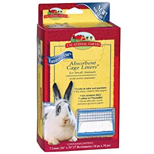 amazon com l m animal farms slm02915 7 pack absorbent small animal rh amazon com