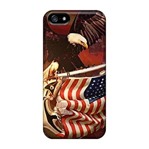 PhilHolmes Iphone 5/5s Protector Hard Cell-phone Cases Unique Design Fashion Patriotic Image [nKX4839oCju]