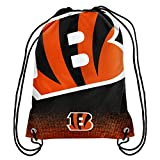 Forever Collectibles NFL Unisex Gradient Drawstring Backpackgradient Drawstring Backpack, Cincinnati Bengals, Standard