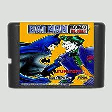 Batman Revenge of the joker (Batman 3) 16 bit SEGA MD Game Card For Sega Mega Drive For Genesis ,Sega Genniess-Sega Ninento,16 bit MD Game Card