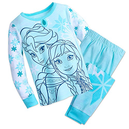(Disney Frozen PJ Pals Pajama Set for Girls Size 6)
