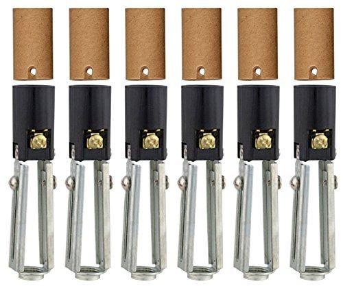 Creative Hobbies 10026 Chandelier Lighting Fixture Socket, 3.75