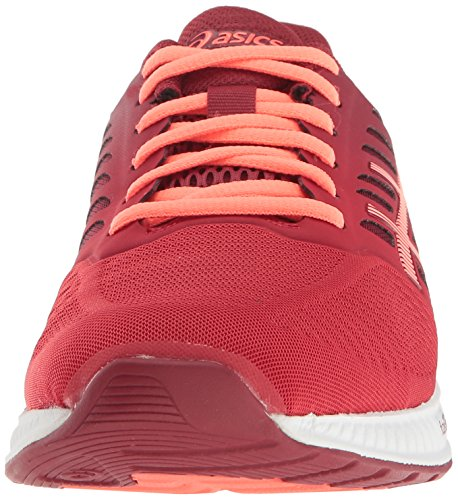 Red Coral Fuzex Red Running 6 M Women's Flash US ASICS True Shoe Oat HOzzxZ