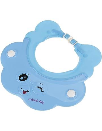 Socialme-eu Champú para Bebé Sombrero de baño Ajustable Gorro de Ducha Gorro de Lavado