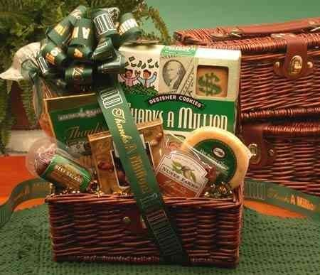 Thanks A Million Gourmet Gift Chest by The Gift Basket Gallery Million Gift Chest