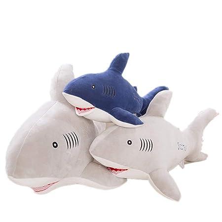 FancyswES8eety Creativa Shark Doll Series Cojín Cómodo de ...