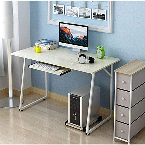 LXDDB Designer Side Tables Computer Desk Small Desk Desk Home Simple Desk Size Optional (Size : A12060+Keyboard)