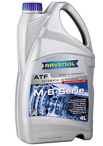 - Ravenol J1D2133 ATF (Automatic Transmission Fluid) - M 6-Series MB 236.10 (A 001 989 21 03) Approved (4 Liter)