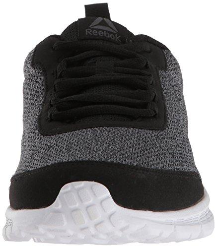 Mens Reebok Speedlux 3.0 Sneaker Grigio Nero / Cenere / Bla Bianco
