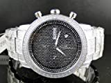 New Mens Jojino 105 Diamond Band Watch MJ-8000 1.05 CT