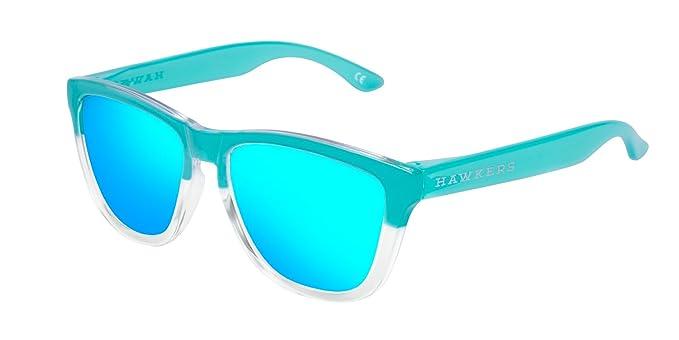 HAWKERS · ONE · Tiffany · Clear Blue · Gafas de sol para hombre y mujer
