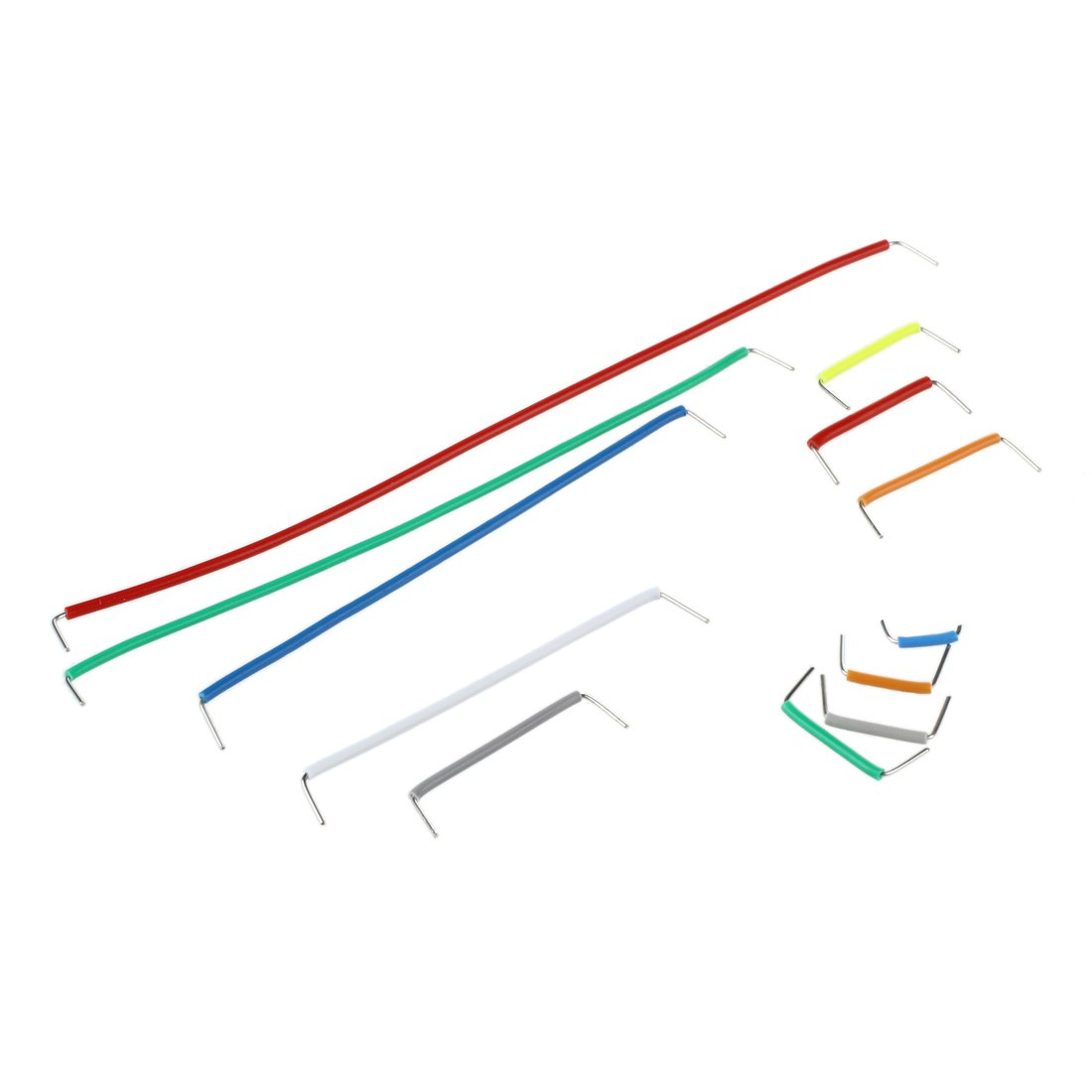 140pcs forme de U essais sans soudure Jumper Cable Kit Fil pour Arduino Shield SODIAL R