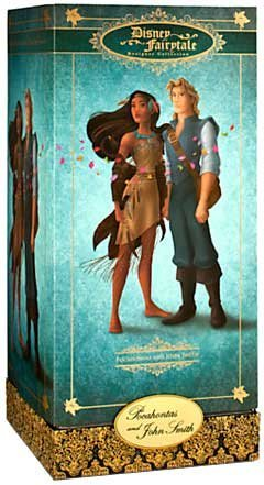 Limited Fairy Edition - Disney Pocahontas and John Smith Doll Set - Disney Fairytale Designer Collection