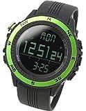 [LAD WEATHER] German Sensor Digital Compass Altimeter Barometer Stopwatch Alarm Weather Forecast Multi function Outdoor Sport Watches (Climbing/ Hiking/ Running/ Walking)