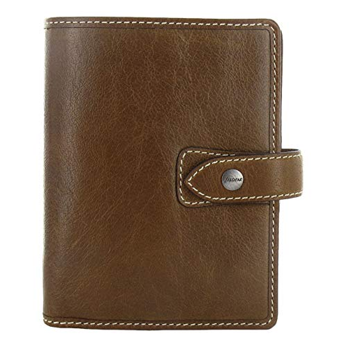 Filofax Pocket - Filofax Malden Pocket Organizer, Leather, Ochre, 4.75 x 3.25 (C025842-2019)