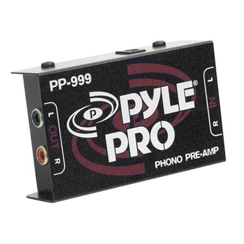 JAYBRAKE Pyle Pro Pp999 Phono Turntable Preamp